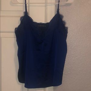 Abercrombie Royal Blue Lace Camisole